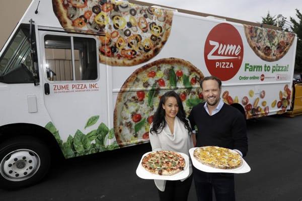 Alex Garden là đồng sáng lập và giám đốc của Zume - start up làm bánh pizza bằng robot