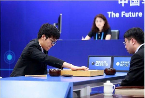 AlphaGo đánh bại Ke Jie. Nguồn: CNBC