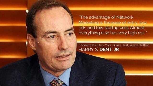 Harry Dent, thương vụ để đời