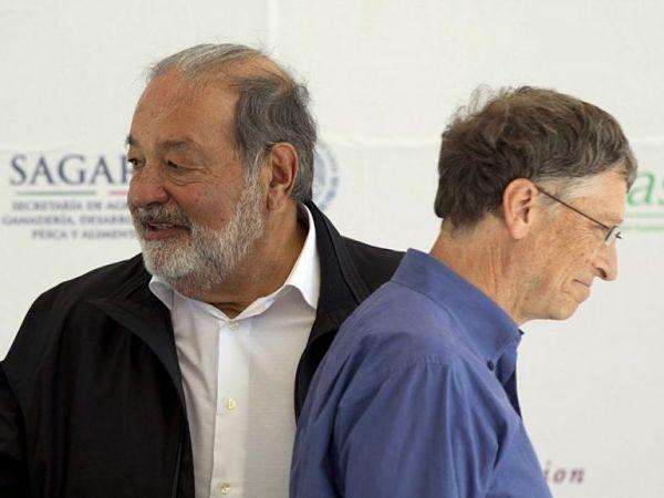 Carlos Slim Helú và Bill Gates