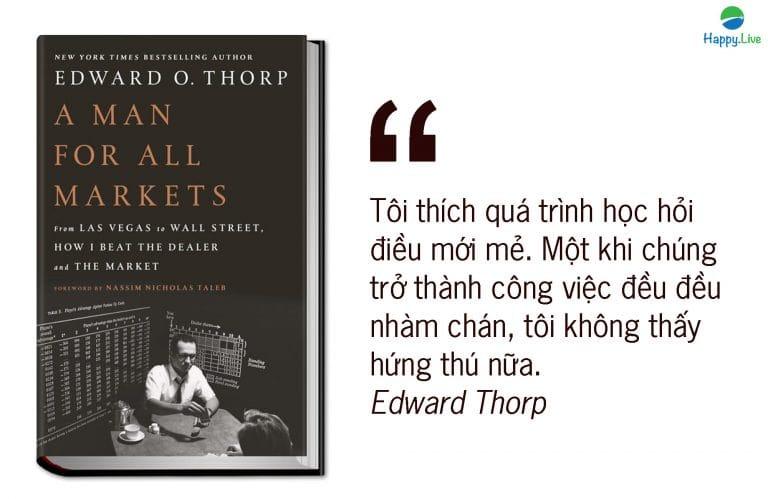 Edward O. Thorp - Thiên tài toán học đánh bại mọi thứ, từ sòng bạc đến phố Wall