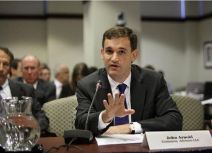 John Arnold trong buổi điều trần ở Washington D.C. Nguồn: Forbes Magazine