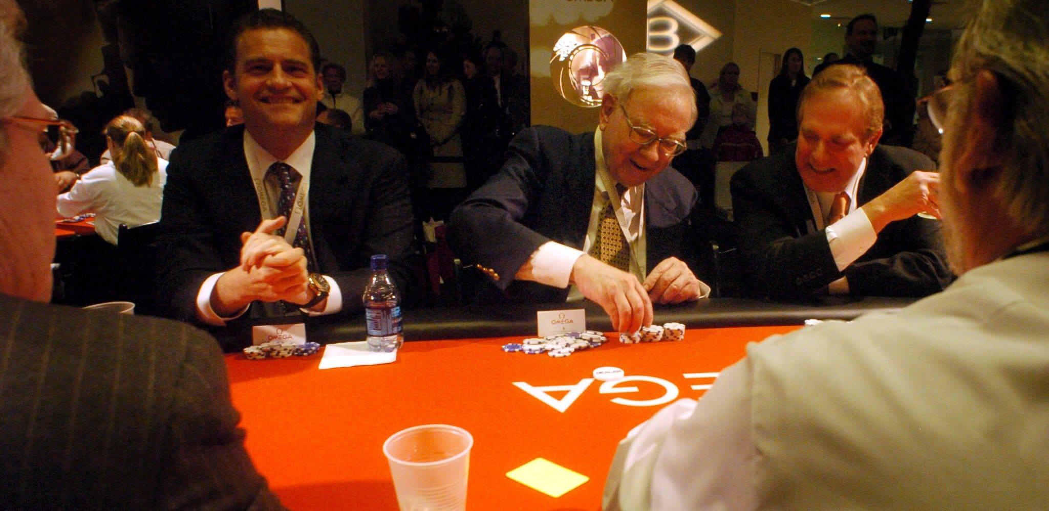 warren buffett poker