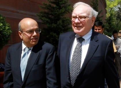 Ajit Jain và Warren Bufett