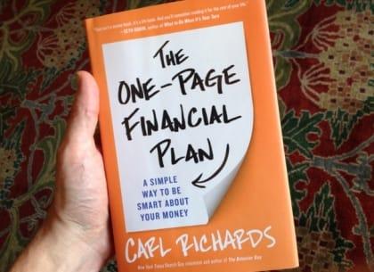 Tóm lược sách: The one-page financial plan - Lập kế hoạch tài chính trên 1 trang giấy
