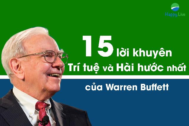 lời khuyên warren Buffett