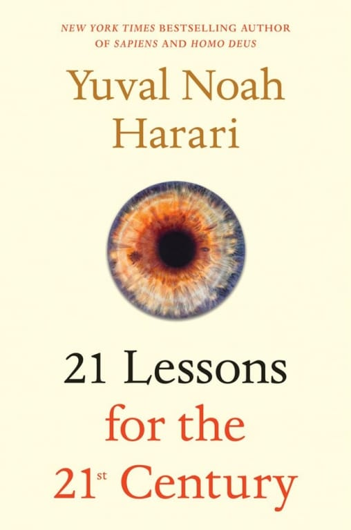 Sách 21 Lessons for the 21st Century của Yuval Noah Harari.