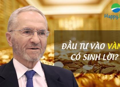Edward Thorp: Đầu tư vào vàng có sinh lợi?
