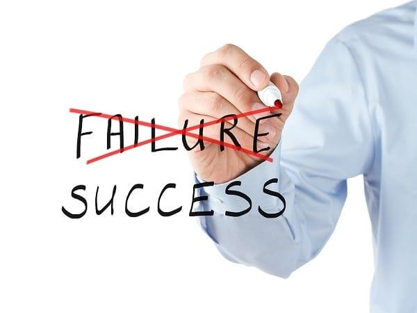 biết vượt qua thất bại