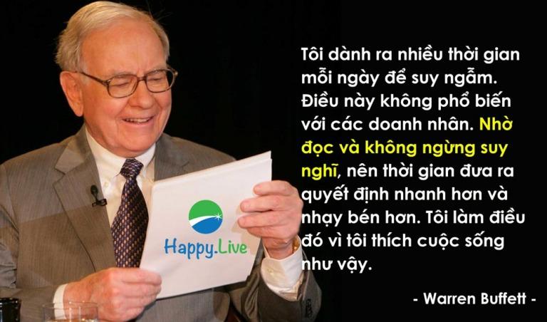 Warren Buffett và những hạng mục đáng đầu tư nhất trong cuộc đời bạnv