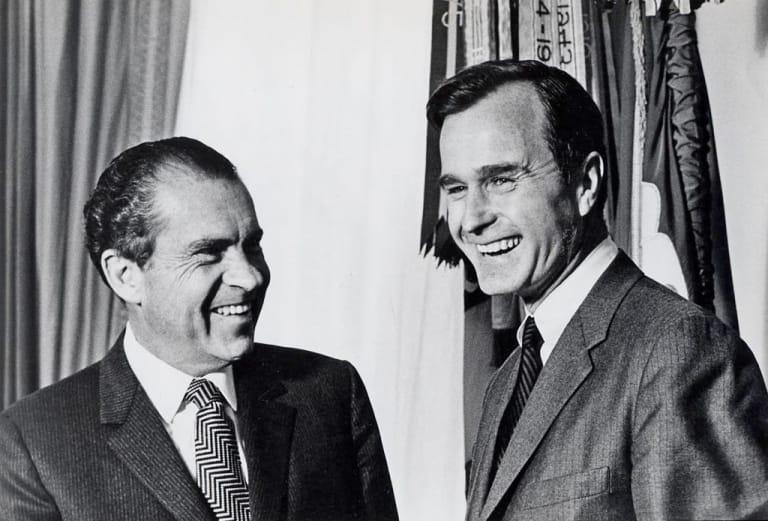 George Herbert Walker Bush tham gia tranh cử