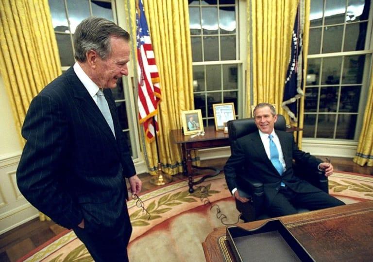 Ngày Bush con nhậm chức