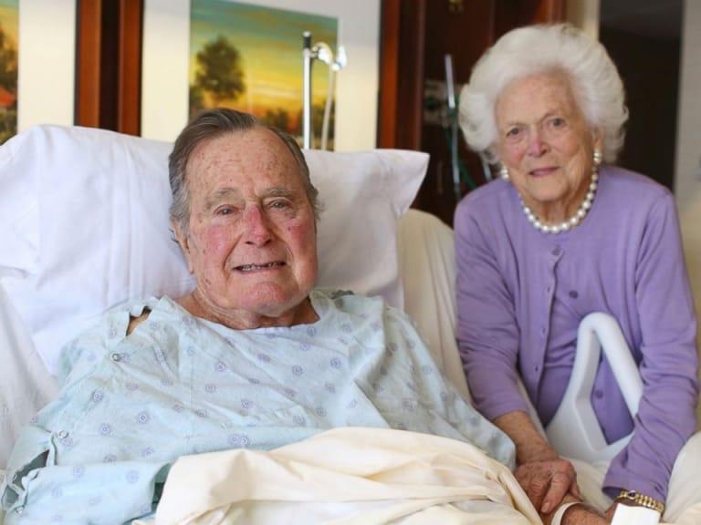 Kỷ niệm 73 năm ngày cưới của Bush