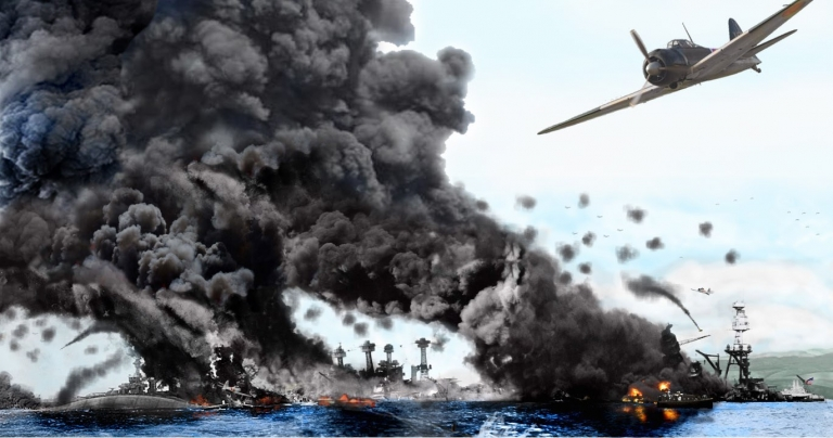 Trận chiến khởi đầu mặt trận Thái Bình Dương trong Thế chiến thứ hai có nguyên nhân trực tiếp do dầu mỏ.