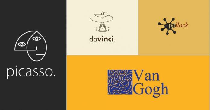 Nếu còn sống, logo của các danh họa nổi tiếng thế giới trông như thế nào?