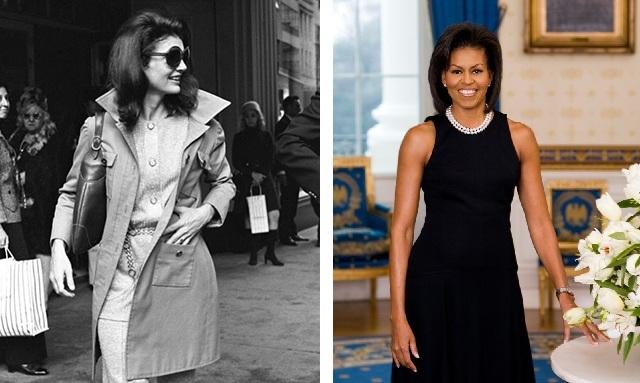 Thập niên 90, Michael Kors lấy cảm hứng từ Đệ nhất Phu nhân Jacqueline Kennedy; năm 2018, Michelle Obama mặc váy của hãng trong bức chân dung chính thức đầu tiên với tư cách là Đệ nhất Phu nhân