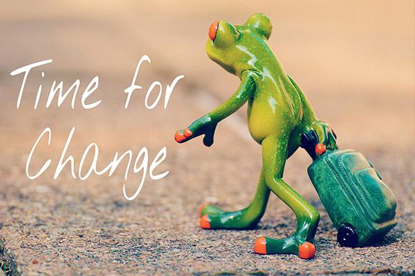 Thời điểm để thay đổi
