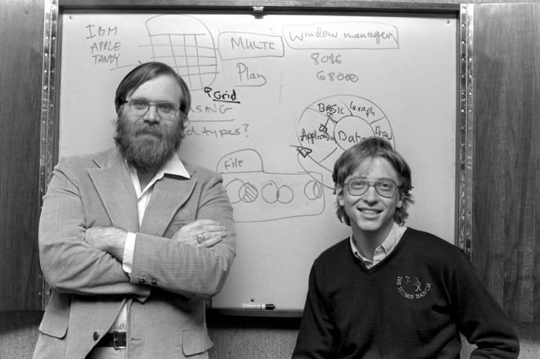 Bill Gates và Paul Allen
