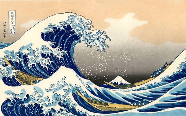 Bức tranh Cơn sóng lớn từ Konnagawa
