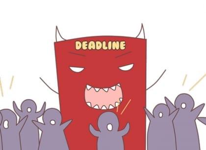deadline có đáng sợ như chúng ta vẫn nghĩ