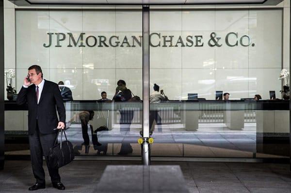 JPMorgan Chase - Ngân hàng hàng đầu nước Mỹ cho rằng cuộc khủng hoảng tài chính tiếp theo trên thế giới sẽ xảy ra sau 2 năm nữa