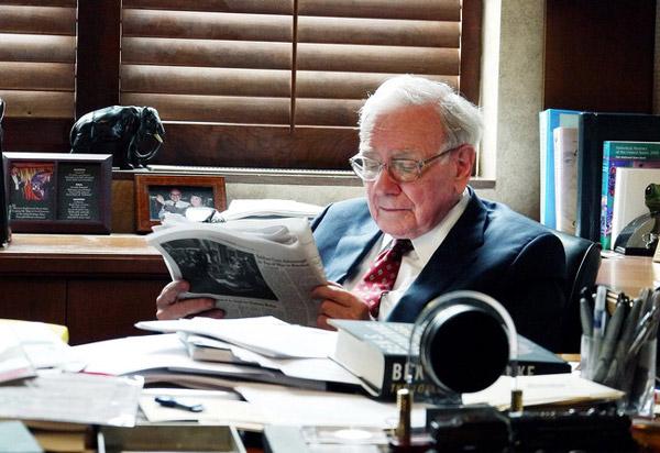 Văn phòng của Warren Buffett