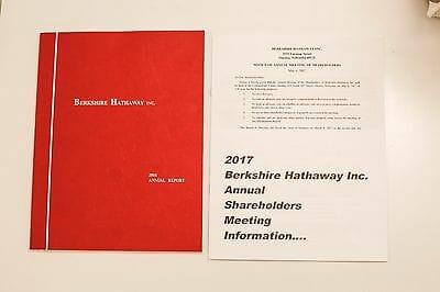 Báo cáo thường niên công ty Berkshire Hathaway của Warren Buffett năm 2016