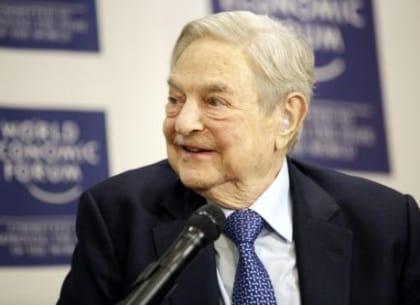 Tỷ phú đầu tư George Soros tại Davos