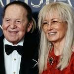 Tỷ phú Sheldon Andelson và vợ - Tiến sĩ Miriam Adelson