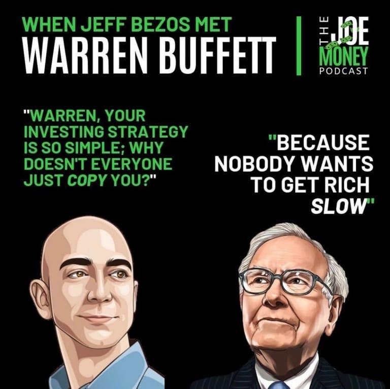 Tại sao không ai giàu như Warren Buffett? Vì người ta không muốn giàu chậm