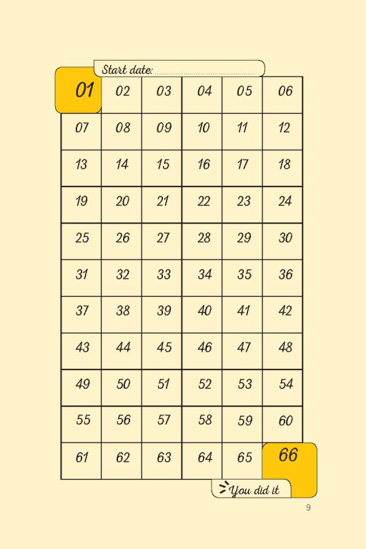 đọc thử sổ tay thực hành 66 ngày