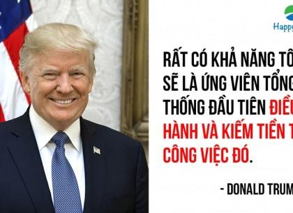 làm giàu từ tổng thống