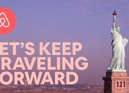 """Airbnb và tuyên ngôn mạnh mẽ """"Du lịch là tiến về phía trước"""""""