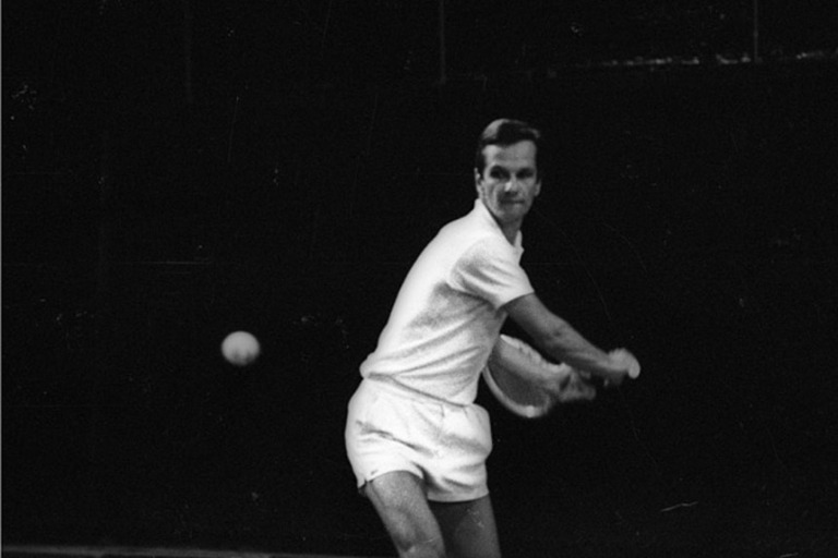 Lemann từng là vận động viên quần vợt 5 lần vô địch Brazil. Ảnh Bloomberg.