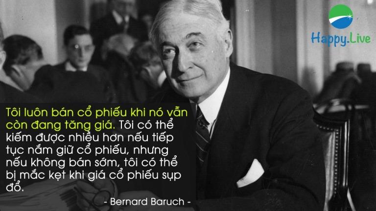 Bernard Baruch, nhà đầu tư đã xây dựng được cơ nghiệp giàu có từ thị trường chưng khoán nó