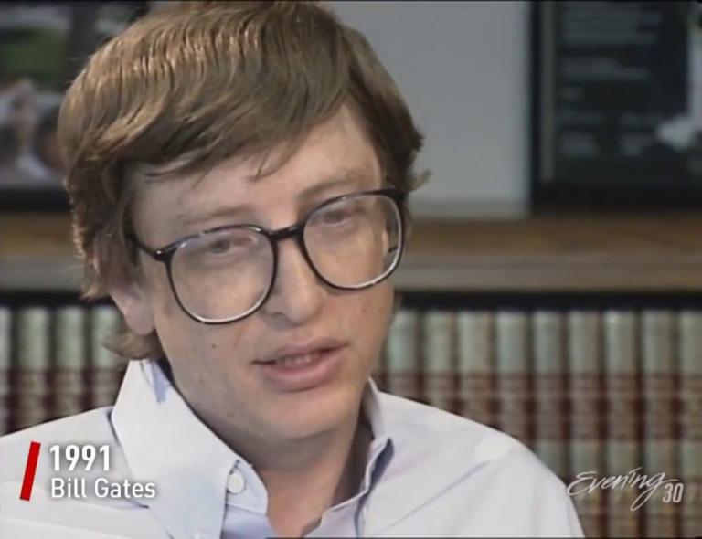 """Gates nhớ lại: """"Ông ấy và tôi có gì để trò chuyện cùng nhau đây, lẽ nào về các giá trị cổ phiếu ư?""""."""