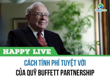 Cách tính phí tuyệt vời của quỹ Buffett Partnership