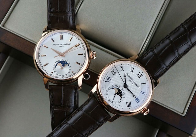 Đồng hồ Frederique Constant với tính năng Moonphase cao cấp