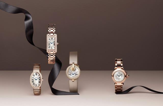 Đồng hồ nữ Cartier Panthére lấy cảm hứng từ loài báo đốm