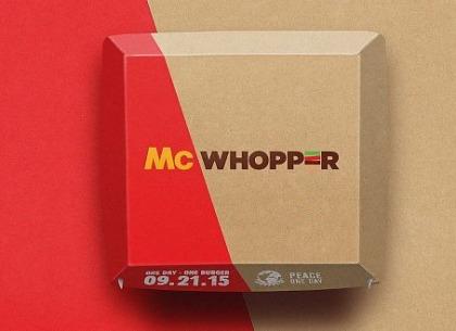 Chiếc bánh McWhopper liệu có thể chấm dứt cuộc chiến ngàn năm giữa hai đối thủ