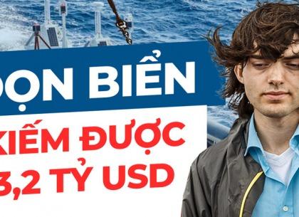Boyan Slat - Cậu thiếu niên dành 10 năm làm sạch một nửa Thái Bình Dương và kiếm được 3,2 tỷ đôla