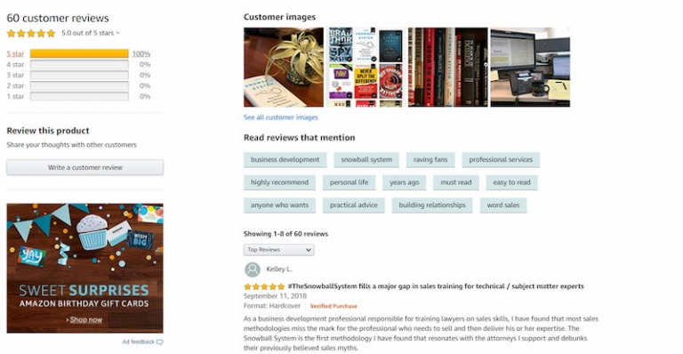 Đánh giá của độc giả về cuốn Hệ thống bán hàng đỉnh cao