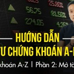 Hướng dẫn đầu tư chứng khoán cơ bản, A-BỜ-CỜ (từ a-z) | Phần 1 | Mở tài khoản