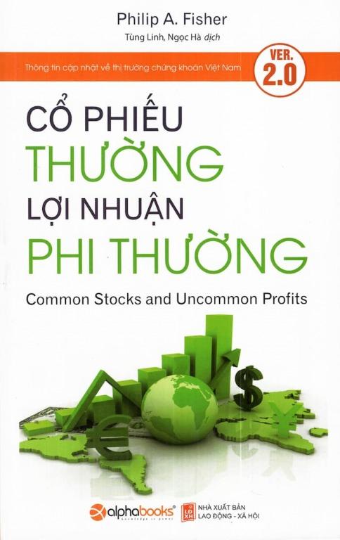 Cổ phiếu thường lợi nhuận phi thường , 7 cuốn sách đầu tư giá trị hay nhất giúp bạn kiếm tiền bền vững từ chứng khoán