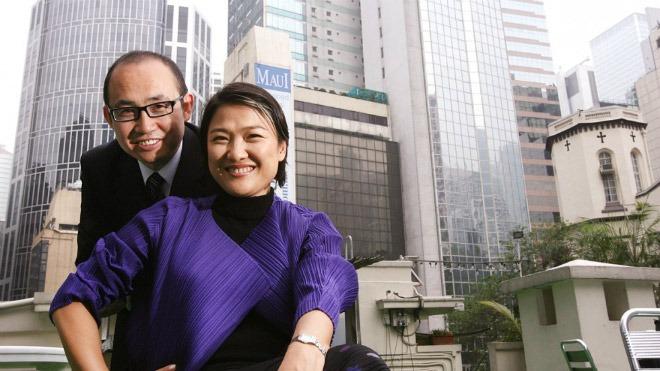 Zhang Xin cùng chồng Pan Shiyi
