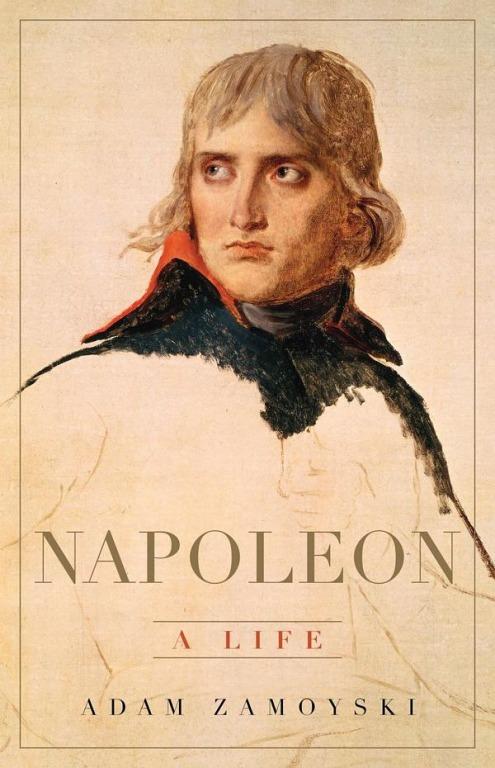 Bìa cuốn sách Napoleon - chân dung một con người của tác giả Adam Zamoyski.