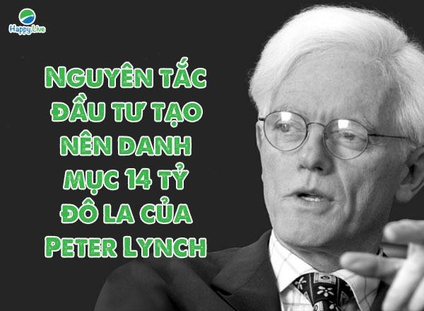 Peter Lynch tạo ra danh mục 14 tỷ USD nhờ chọn cách tự quyết định vận mệnh của mình
