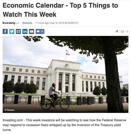 Điểm tin tài chính tuần mới 19/8/2019