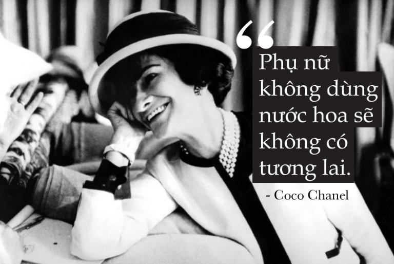 Chanel No 5 là một trong những sản phẩm làm nên tên tuổi của Coco Chanel