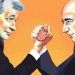 Chuyện chưa biết đằng sau tình bạn kéo dài hàng thập kỷ giữa Jeff Bezos và Jame Dimon